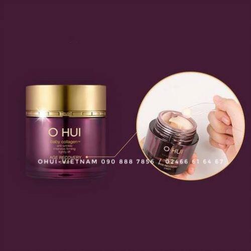 OHUI Age Recovery Eye Cream Kem dưỡng da vùng mắt Baby Collagen 20ml