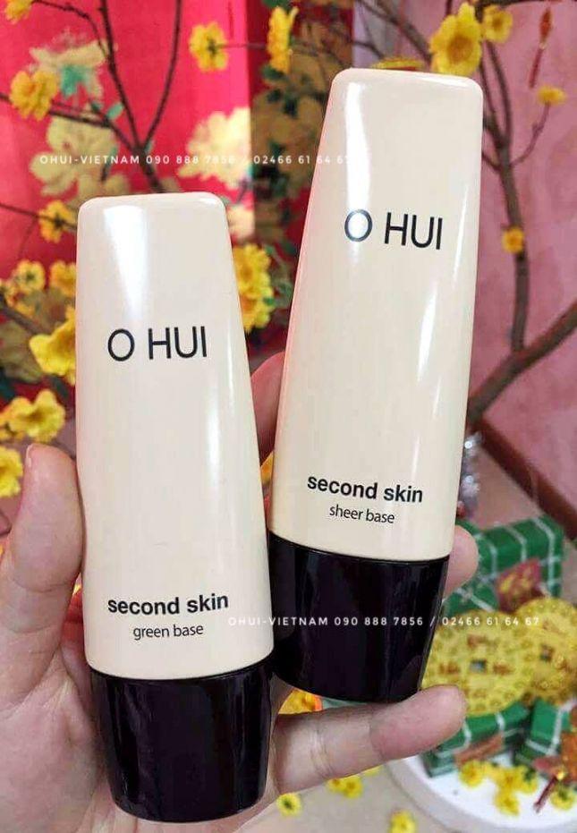 OHUI Second Skin Base Kem lót hiệu chỉnh sắc da 40ml