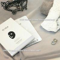 OHUI Extreme White 3D Black Mask Mặt nạ dưỡng trắng tinh thể tuyết kết cấu 3 chiều cho làn da tươi sáng 27g