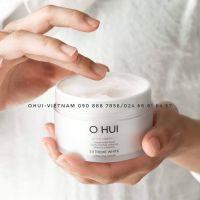OHUI Extreme White Sleeping Mask Mặt nạ ngủ dưỡng trắng da tinh thể tuyết với thành phần Snow Vitamin cô đặc giúp da trắng sáng rạng rỡ 100ml
