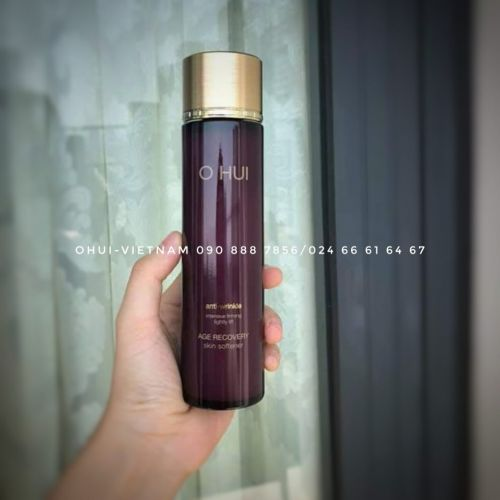 OHUI Age Recovery Skin Softener Nước hoa hồng chống lão hóa chứa Baby collagen 150ml