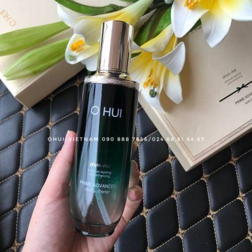 OHUI Prime Advancer Skin Softener Nước Cân bằng da dạng Essence mang lại làn da ẩm mịn, chắc khỏe mà không hề bết dính 150ml