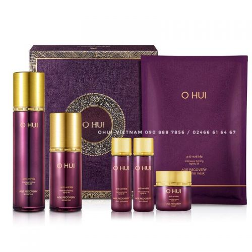 OHUI Age Recovery Essence Set Tinh chất Baby Collagen 139ml