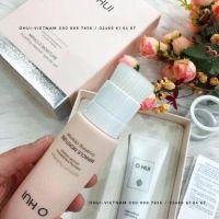 OHUI Miracle Moisture Brushing Cleanser Sữa rửa mặt tích hợp đầu cọ dành cho da Siêu nhạy cảm 120ml