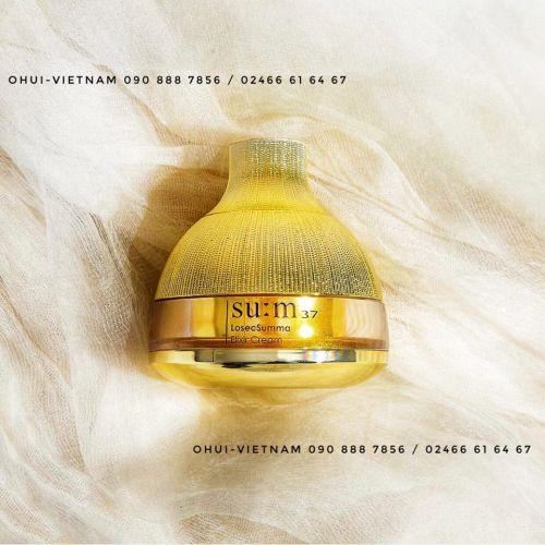 SU:M37 Losec Summa Elixir Cream Kem dưỡng Tái sinh thanh lọc và điều trị cho da khoẻ mạnh và tươi trẻ 60ml