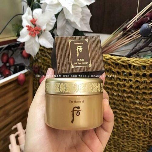 Whoo Nok Yong Massage Kem massage lộc nhung và tinh dầu thảo mộc Hàn Quốc 40ml