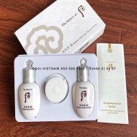 Whoo Seol Royal Whitening Special Set 3pcs  Set dưỡng trắng da Đông Y minisize dùng thử 45ml