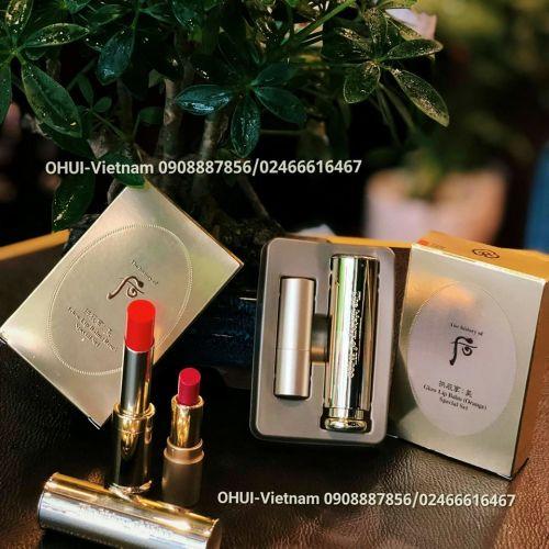Whoo Glow Lip Balm Set Son dưỡng môi Đông Y 5,3g (Orange)
