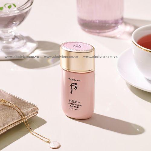 Whoo Vital Hydrating Sun Fluid SPF50+/PA+++ Sữa chống nắng Đông Y dành cho mọi loại da, đặc biệt phù hợp da mụn và nhạy cảm 60ml