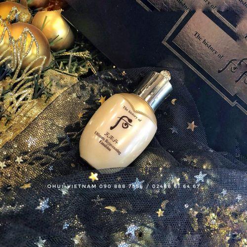 Whoo Cheonyuldan Rejuvenating Emulsion Sữa dưỡng tái sinh da Đông Y cô đặc sáng da ngừa lão hóa săn chắc nếp da 25ml