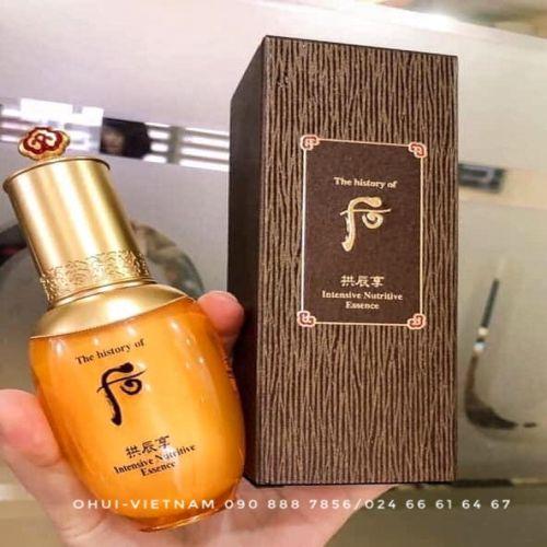 Whoo Intensive Nutritive Essence  Tinh dầu dưỡng ẩm da nâng cao độ đàn hồi cho da  Đông Y Hoàng Cung 45ml